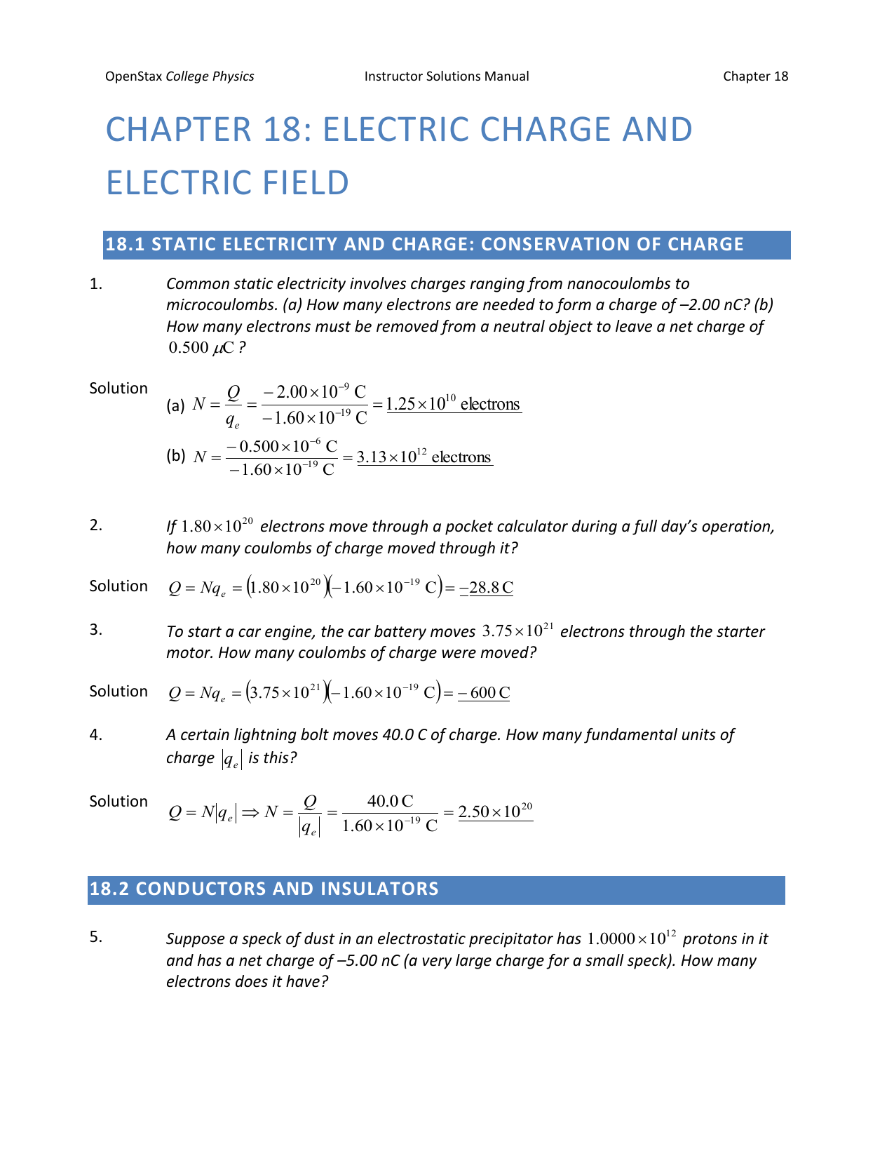 GM Physics E&M Electrostatics Point Charges & Net Force Concept Problems and Solutions