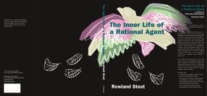 The Inner Life of a Rational Agent