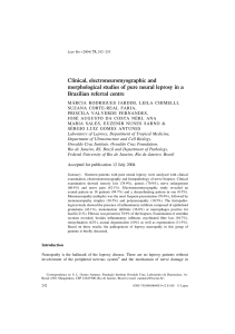 Clinical, electroneuromyographic and morphological studies of pure