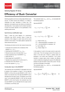 Efficiency of Buck Converter : Power Management