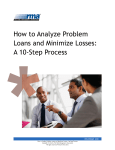 How to Analyze Problem Loans and Minimize Losses