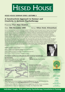 VIEW PDF - Hesed House, Dublin