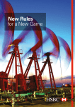 New Rules for a New Game - HSBC Global Banking and Markets