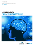 AI IN PAYMENTS: THE LAST MILE IN EFFICIENCY