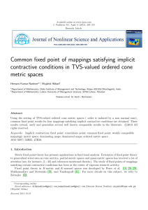 Common fixed point of mappings satisfying implicit contractive