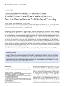 Transitional Probabilities Are Prioritized over Stimulus/Pattern