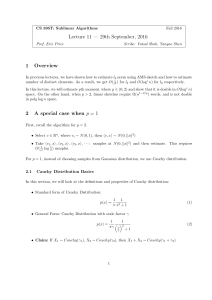 Lecture notes  - UT Computer Science