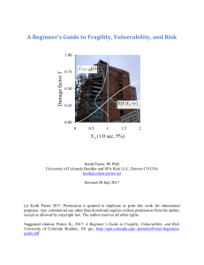 A Beginner`s Guide to Earthquake Fragility