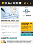 Bending the Health Care Cost Curve