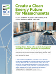 Create a Clean Energy Future for Massachusetts