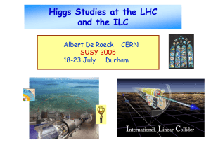 Higgs physics at the LHC and ILC