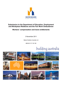 Submission to the Department of Education, Employment and