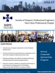 Society of Hispanic Professional Engineers Twin Cities Professional