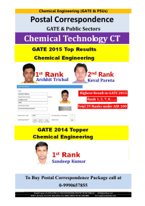 Chemical Technology - Engineers Institute of India