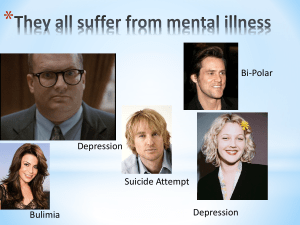 Mental Illness: A History