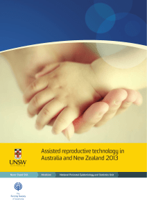 Assisted reproductive technology in Australia and New