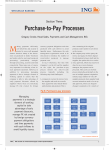 Purchase-to-Pay Processes