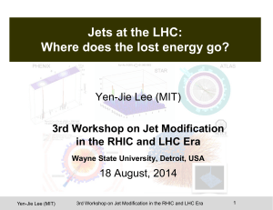 Jets at the LHC: Where does the lost energy go?