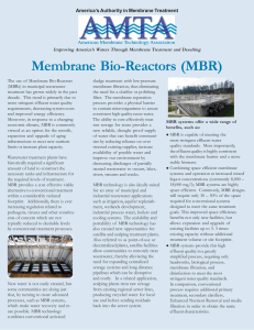 MBR - American Membrane Technology Associations