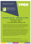 Computer Games – Addiction or Aid?