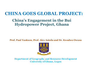 china goes global project