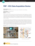 FDP – VCU Data Acquisition Device