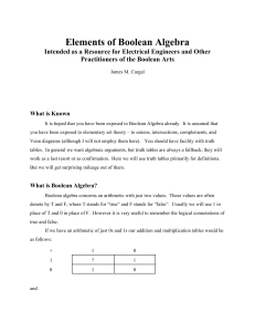 Elements of Boolean Algebra - Books in the Mathematical Sciences