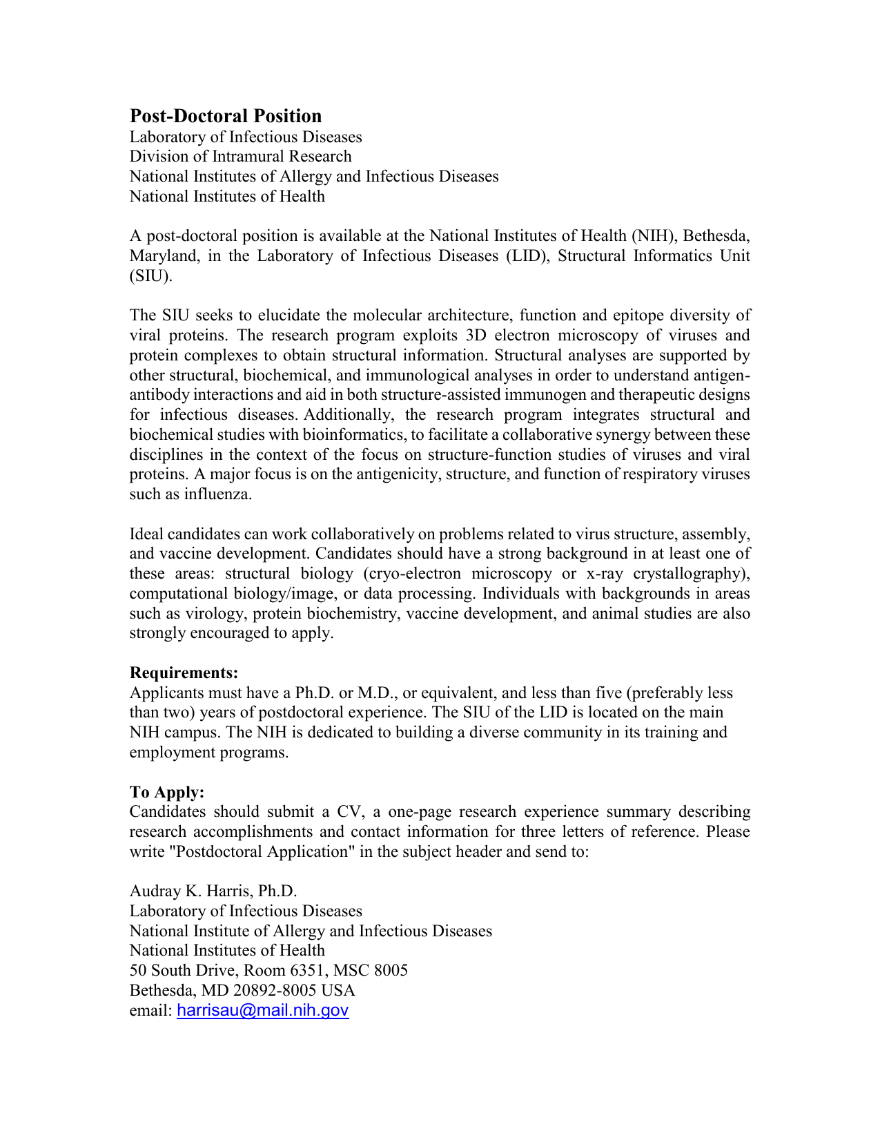 Postdoc Cover Letter Sample Doc from s1.studyres.com