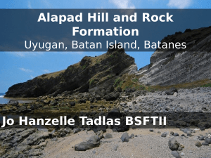 Alapad Hill and Rock Formation Jo Hanzelle Tadlas BSFTII
