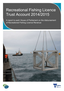 2014-15 RFL Trust Account Report to Parliament
