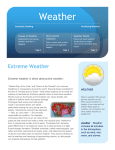 Extreme Weather - Wyckoff School District