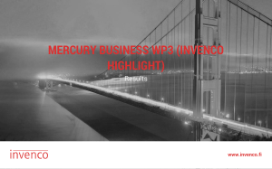 Mercury Business, WP3 - Invenco Highlight-1