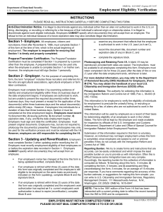 I-9 Form - Federal Government Jobs