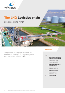 The LNG Logistics chain