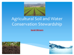 Agricultural Soil and Water Conservation Stewardship