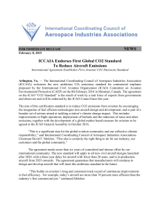 NEWS ICCAIA Endorses First Global CO2 Standard To Reduce