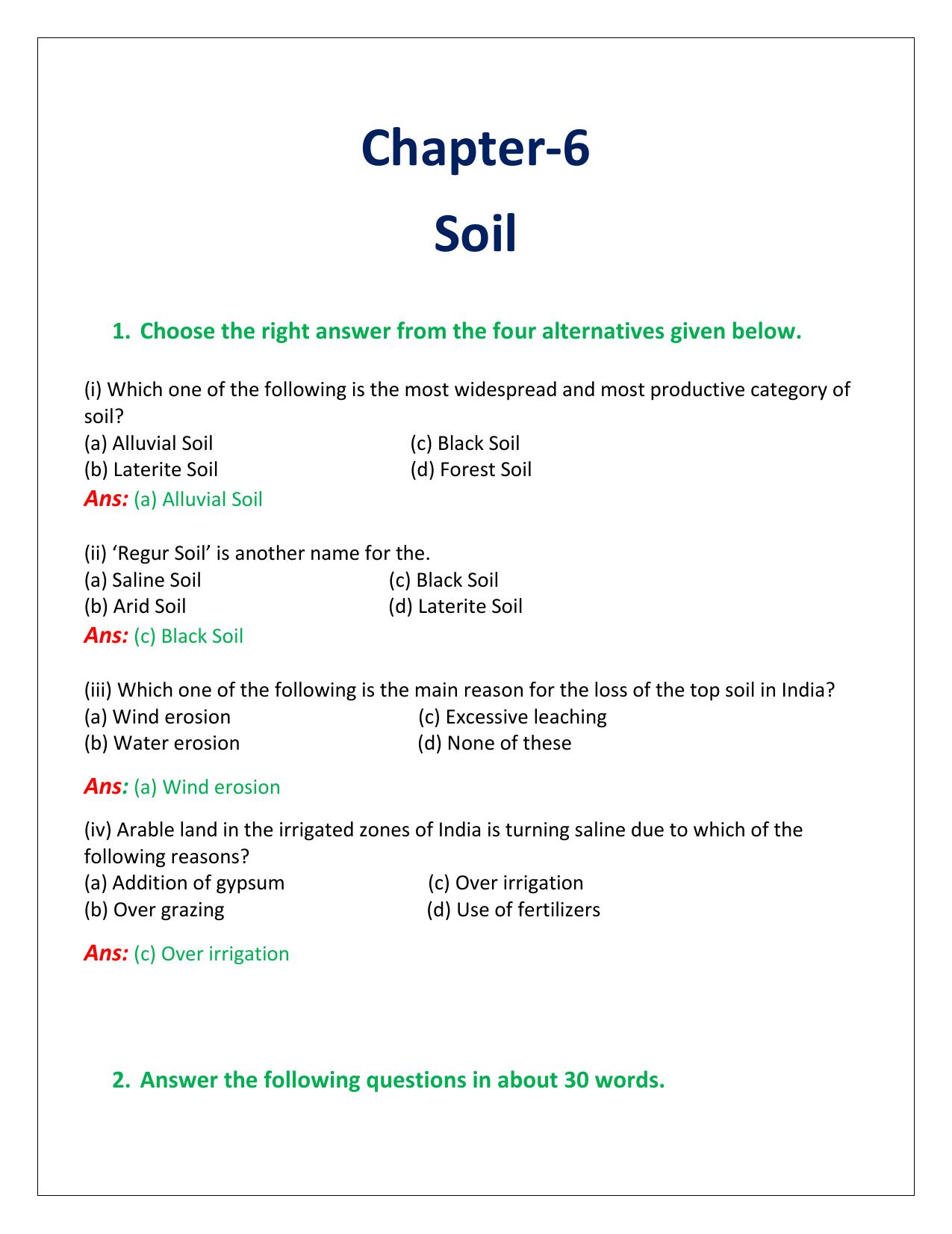 arid soil in india