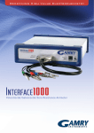 Interface 1000 Potentiostat Brochure