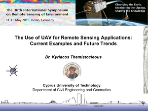 Applications of multi-spectral satellite remote sensing