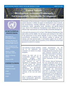 United Nations Development Assistance Framework