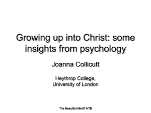 London 10 - Growing Up Into Christ