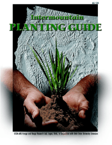Intermountain Planting Guide - Utah State University Extension