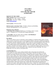 SYLLABUS Spring 2012 SCIE 3304, SECTION 001 ASTRONOMY