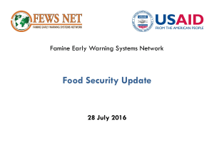 - Food Security Cluster