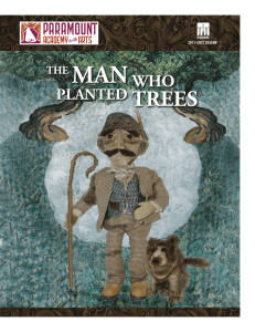 planted trees - Puppet State Theatre Company