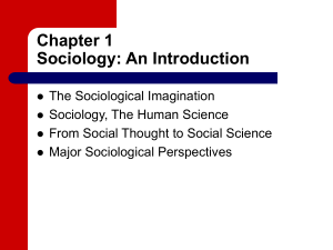 Sociology In A Changing World, 6e
