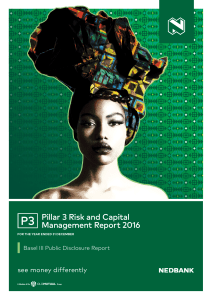 Pillar 3 Risk and Capital Management Report 2016