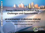 Energy Efficiency in Central Asia