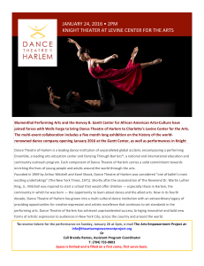 Dance Theater of Harlem - The Arts Empowerment Project