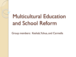 Multicultural Education Is Basic Education